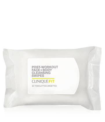 CliniqueFIT ™ Post-Workout Face + Body Cleansing Swipes